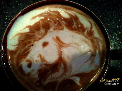 How to Do Etching Latte Art - 3 Tips For Success from Monette Vi | Espresso Mode | Scoop.it