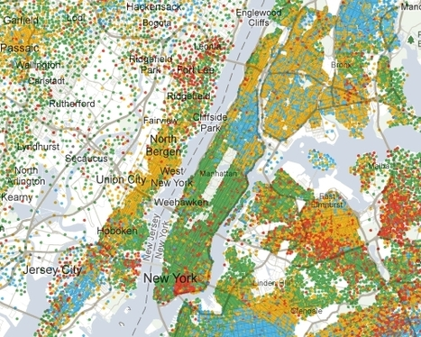 Map Elegance: Putting the Data First | Geospatial | Scoop.it