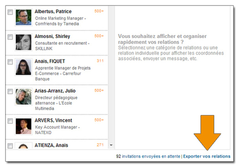 Le Guide complet de l'Utilisateur LinkedIn | science de l'info | Scoop.it