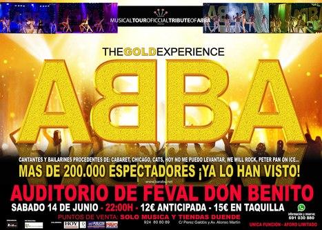 ABBA THE GOLD EXPERIENCE en el auditorio de #FEVAL | FEVAL Eventos | Scoop.it