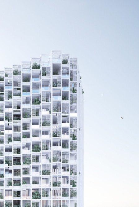 [Vijayawada, India]  Penda to Build MODULAR, Customizable Housing Tower | The Architecture of the City | Scoop.it