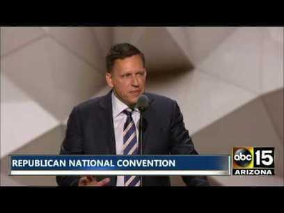"""First Facebook Investor Peter Thiel, """"Hillary Clinton's Incompetence Is In Plain Sight"""" [Video] - The Duran   Global politics   Scoop.it"""