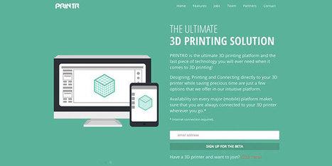 Printr, nouveau venu dans l'impression 3D - Mon logo 3D | Agence Web de création de site internet Webpulser Lille | Scoop.it