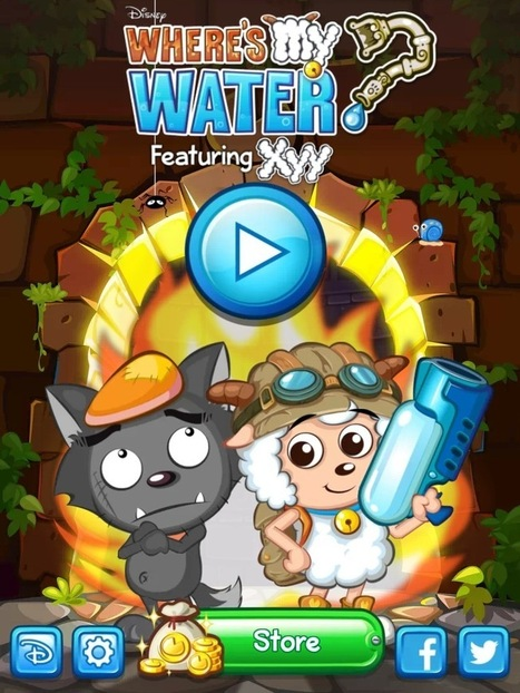 Where's My Water? Featuring XYY Review: TabletGameReviews.com | Casual Games Reviews | Scoop.it
