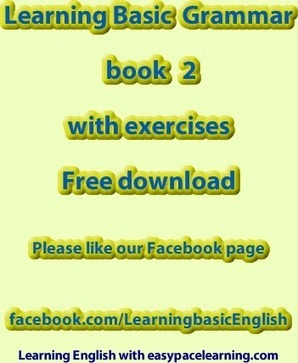 Learning basic grammar PDF book 2 exercises free download | Grammar with Danka | Scoop.it