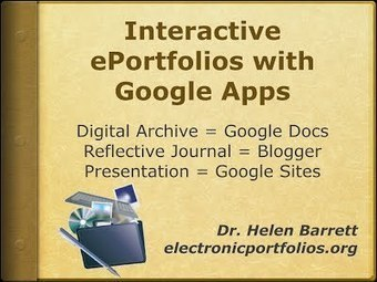 ePortfolios with GoogleApps | New Web 2.0 tools for education | Scoop.it
