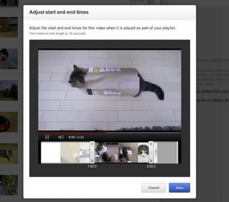 Youtube ya permite crear listas de vídeos con pedazos de los mejores momentos de cada uno | COMUNICACIONES DIGITALES | Scoop.it