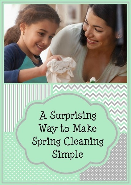 A Surprising Way to Make Spring Cleaning Simple | Homemaking | Scoop.it