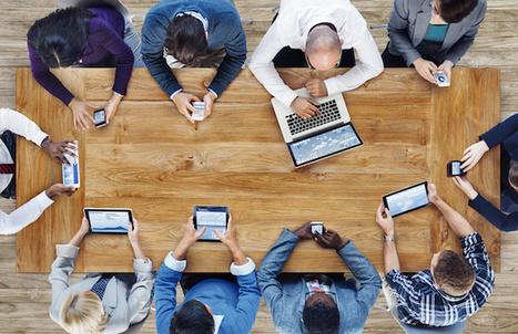 Les plateformes collaboratives dans les entreprises 3.0   Travailler autrement à l'ère du numérique   Scoop.it