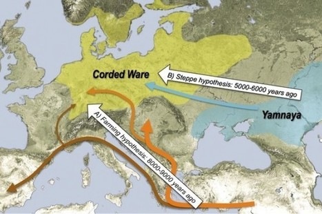 European Invasion: DNA Reveals The Origins Of Modern Europeans | JWK Geography | Scoop.it