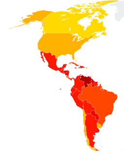 The Americas: Economies grow, democracies shrink. What does corruption have to do with it? | space for transparency | Marketing | Transcreation | Scoop.it