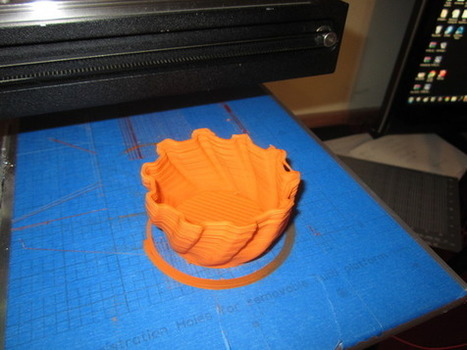 HYREL 3D also prints with RUBBER & CLAY | 3d printers and 3d scanners | Scoop.it