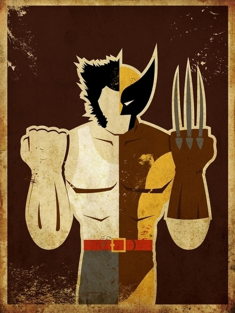 Danny Haas : Superheroes | GRAPHISME | Scoop.it