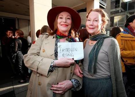 Abbey protesters demand 'Respect' as Waking the Feminists takes stage - Independent.ie | The Irish Literary Times | Scoop.it