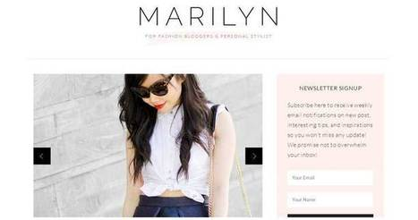 19 Stylish Fashion WordPress Themes For Blogs & Stores - Templates Crunch | WordPress Themes | Scoop.it