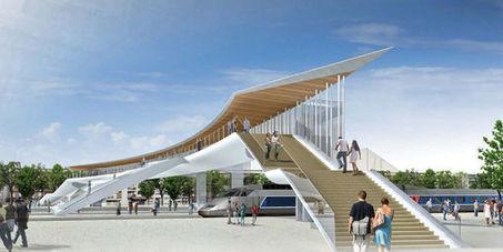 Ville en mue. Saint-Brieuc profite de l'arrivée de la ligne à grande vitesse pour lancer d'importants travaux lemonde.fr | Saint-Brieuc Entreprises: l'actualité | Scoop.it