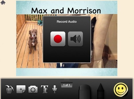 Little Story Creator - A Free App for Creating Multimedia Stories - iPad Apps for School | ipadinschool | Scoop.it