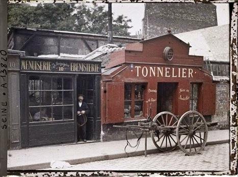 Shooting Film: Amazing Colour Photos of Paris in the early 1900's | L'actualité de l'argentique | Scoop.it