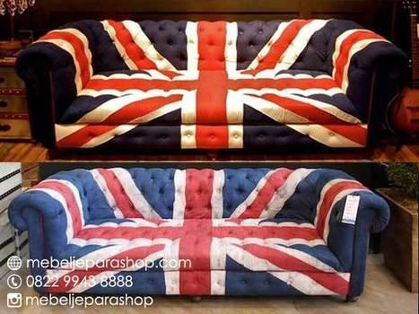 Sofa Bendera Inggris | MEBEL JEPARA SHOP | Mebeljeparashop | Scoop.it