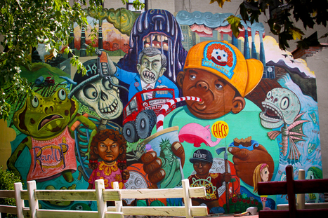 14 New York City Murals That Will Make Your Jaw Drop | Brooklyn By Design | Scoop.it