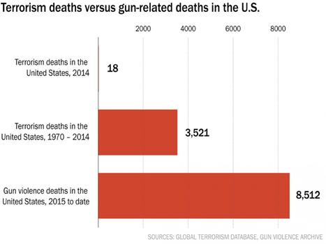 USA : MORE GUN DEATHS IN 2015 THAN TERRORISM DEATHS IN  44 YEARS. | Culture, Humour, the Brave, the Foolhardy and the Damned | Scoop.it