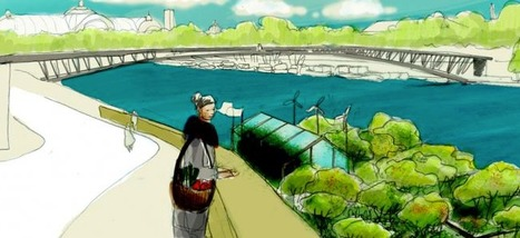 Paris: LES BARGES DE LA PERMACULTURE | ECONOMIES LOCALES VIVANTES | Scoop.it