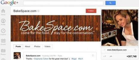 Google+ Success Spotlight: BakeSpace, Inc. | Business 2 Community | Google+1 | Scoop.it