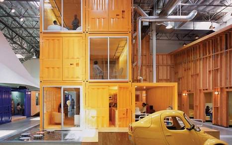 Cargo containers in offices » Retail Design Blog | Diseño de oficinas y espacios comerciales | Scoop.it
