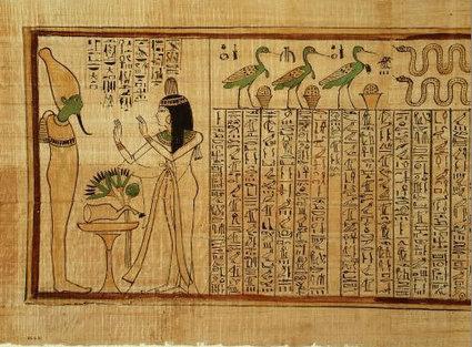 Mi mundo bajo el agua: Escritura egipcia. | Arte del Antiguo Egipto. | Scoop.it