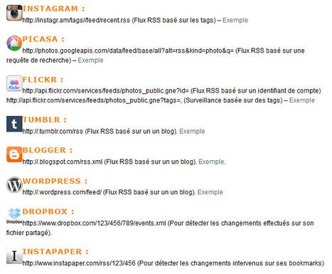 Suivez 20 réseaux sociaux via leurs flux RSS enfouis ou cachés | internet et Wp | Scoop.it