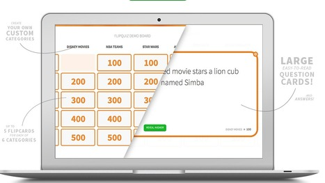 FlipQuiz Offers an Easy Way to Create Jeopardy-style Games | My K-12 Ed Tech Edition | Scoop.it
