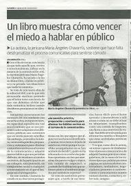 Nuevo libro de la jericana María Ángeles Chavarría - El Informal ...   Noticias Literarias   Scoop.it