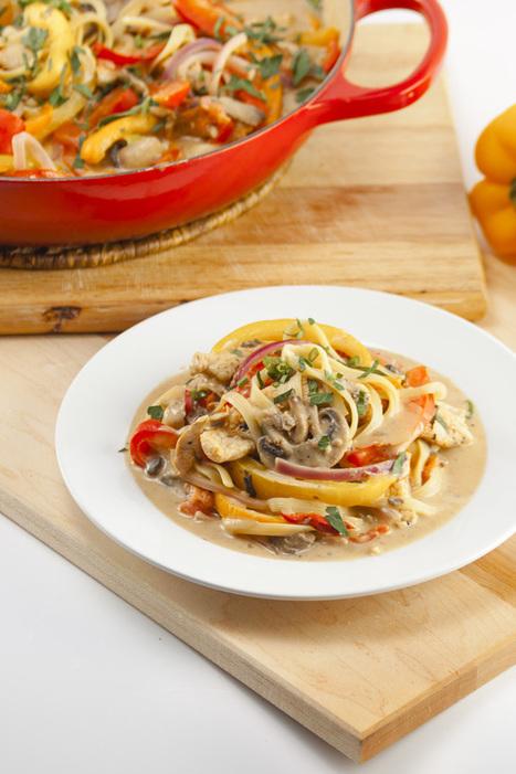 Bent Philipson Chef-HealthyRecipe // Lightened Up Cajun Chicken Pasta | Bent Philipson Chef | Scoop.it