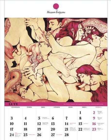 Il calendario d'arte erotica del museo polacco dell'erotismo - Desiderosamente   La seduzione, un'arte che nasce dai desideri.   Scoop.it