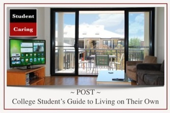 College Student's Guide to Living on Their Own | Education | Scoop.it