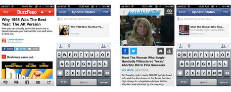 Facebook To Developers: Adapt IOS Share Dialog | API's on the web | Scoop.it