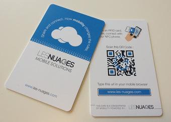 Le blog Marketing mobile de Nexence: Nexence élargi sa gamme de produits avec la création de cartes de visite NFC/QR code | Actualités sur les nouvelles technologies et les innovations web, réseaux sociaux , smartphones et tablettes | Scoop.it