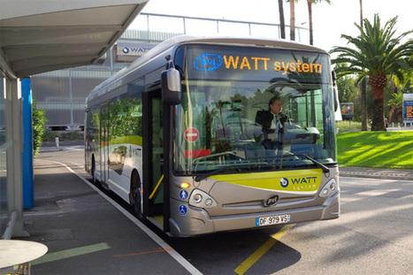 Le bus électrique à autonomie illimitée expérimenté à Nice | Communiqu'Ethique sur les sciences et techniques disponibles pour un monde 2.0,  plus sain, plus juste, plus soutenable | Scoop.it