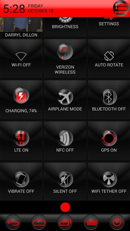 RED JUICED CM 10.1 10.2 THEME v1.0 | ApkLife-Android Apps Games Themes | Weather | Scoop.it