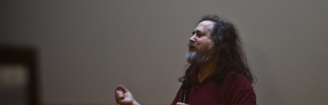 Richard Stallman évangélise à la Cantine | La Cantine Toulouse | Scoop.it