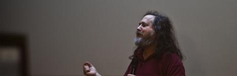 Richard Stallman évangélise à la Cantine | internet et education populaire | Scoop.it