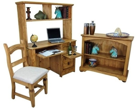 Rustic Furniture For Home Office Group   Mexican Furniture And Decor   Scoop.it