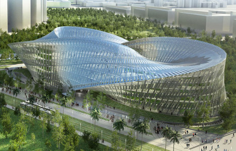 Geometric Inspiration + Green Building: Taiwan's Zero-Carbon Swallows Nest | Creating new possibilities | Scoop.it