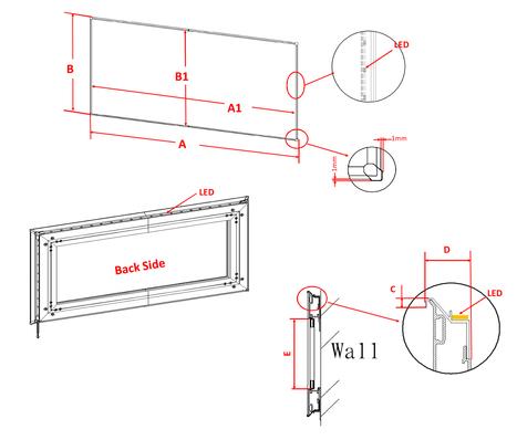 elite primevision DarkStar® UST eFinity - Fixed Frame Screens | Projector Screens | Scoop.it