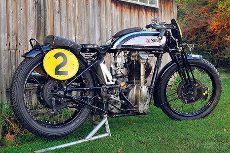 Norton CS1 racer   Vintage et Café Racer   Scoop.it