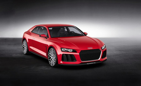 The latest concept car from Audi | MyCarzilla | Super cars News | Scoop.it