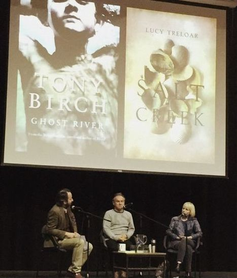 Behind the mike – Mr Mahoney interviews Lucy Treloar and Tony Birch #BookWeek   What is a teacher librarian?   Scoop.it