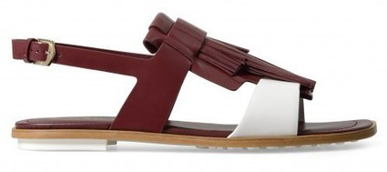 Buckled and fringed sandals by Alessandra Facchinetti for Tod's | TAFT: Trends And Fashion Timeline | Scoop.it