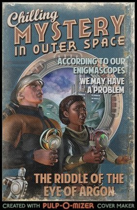 Chilling Mystery in Outer Space: July, 2037 - Thrilling Tales of the Downright Unusual | Informed Teacher Librarianship | Scoop.it