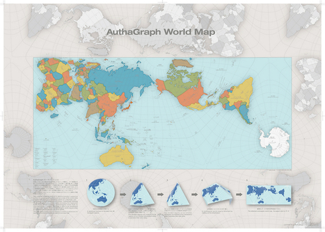 This Map of the World Just Won Japan's Prestigious Design Award | Technical Translations and more | Scoop.it